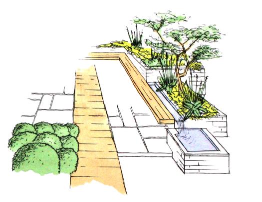 Garden design in exeter horseguards plant a seed garden for Landscape design sketches