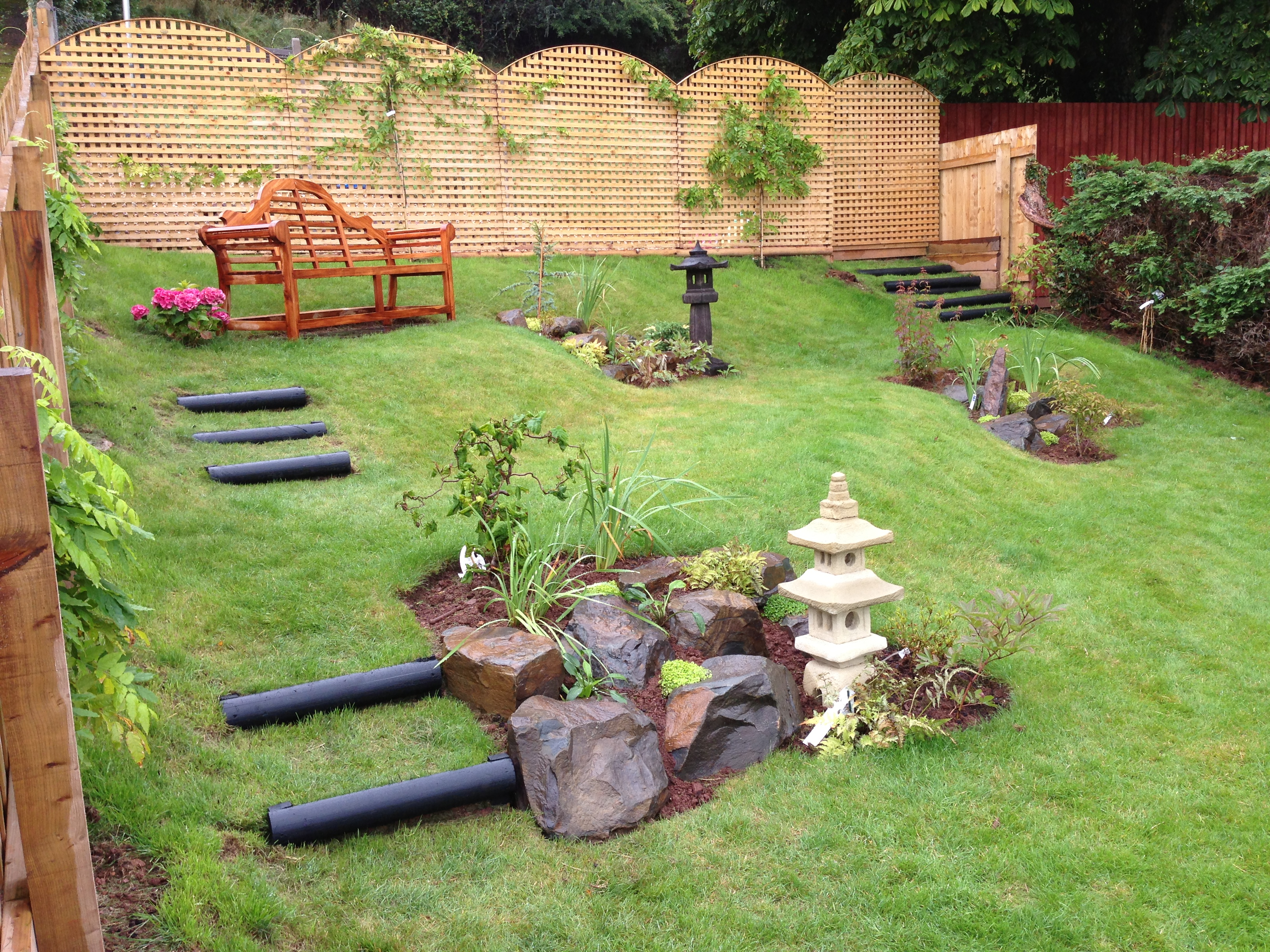 Exeter japanese garden designer plant a seed garden design for Home garden design uk