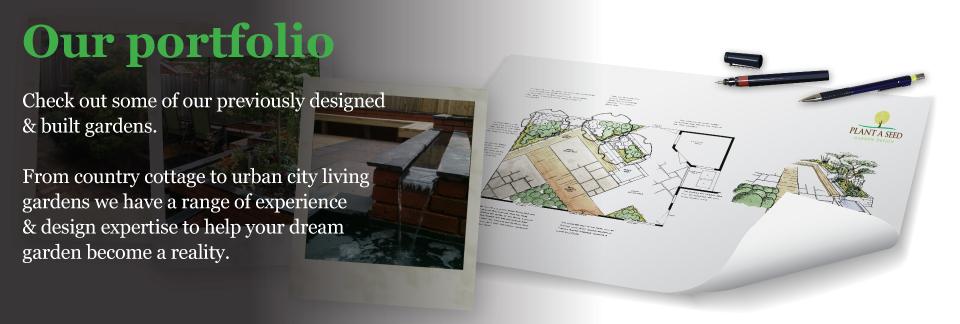 Garden Design Portfolio from Devon garden designer Plant A Seed Garden Design