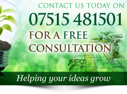 Call Plant A Seed Garden Design, construction & maintenance on 07515 481501